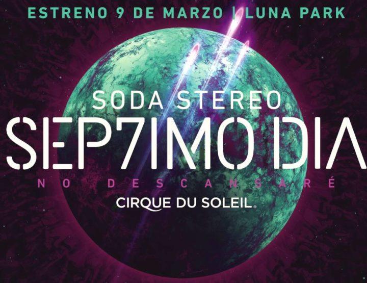 """""""SEP7IMO DÍA, No Descansaré"""" de Cirque du Soleil"""