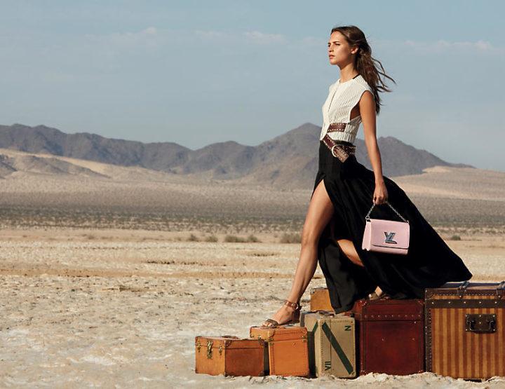 Alicia Vikander musa de Louis Vuitton