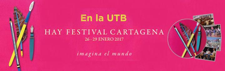 Continúa abierta boletería para el Hay Festival Cartagena de Indias 2017
