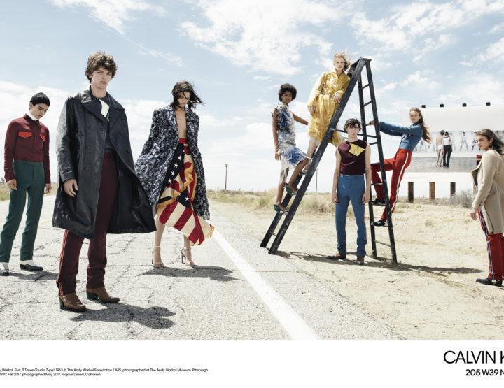 Calvin Klein anuncia campaña publicitaria para la próxima temporada.