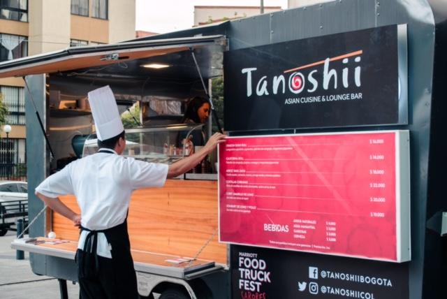 ¡Marriott Food Truck Fest: el plan de septiembre!