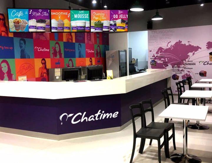 CHATIME, abre la primera tienda de Latinoamerica en Colombia