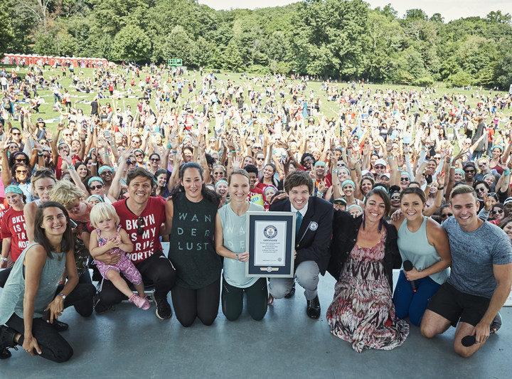 ADIDAS y WANDERLUST rompen un Guiness World Record
