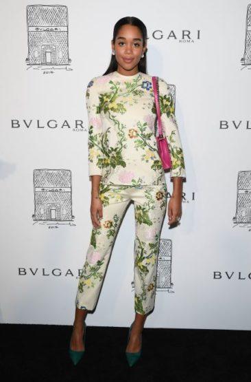 Calvin Klein By Appointment vistió a la actriz Laura Harrier