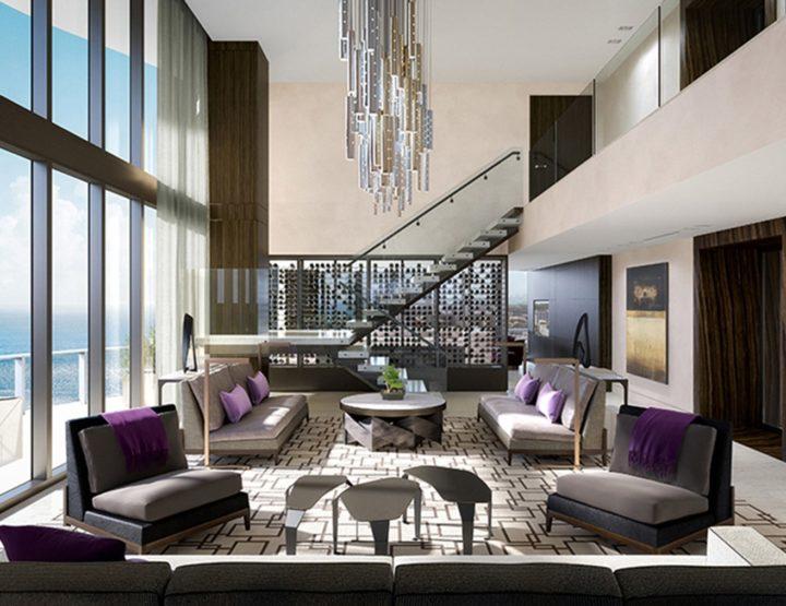 Diamante rosado como regalo en un Penthouse de Miami