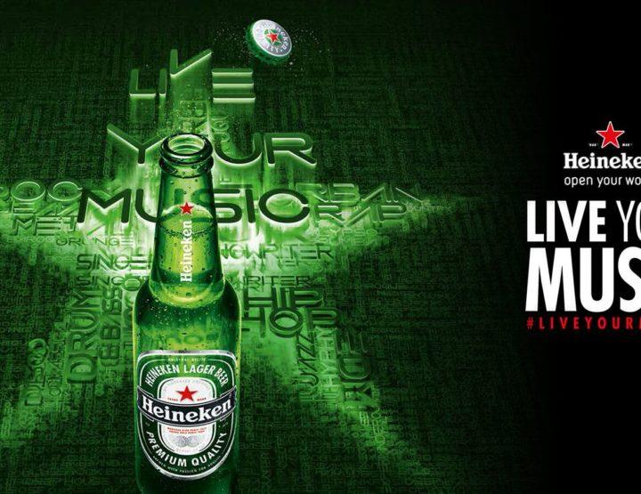 Heineken® LIVE YOUR MUSIC  te conecta con los mejores festivales de fin de año en el país.