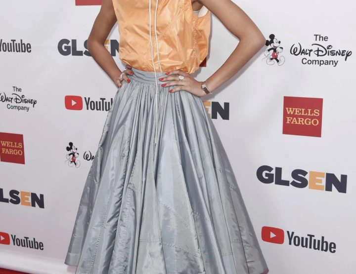 Calvin Klein vistió a la actriz y cantante Zendaya