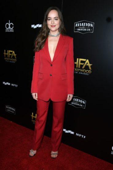 Calvin Klein vistió a las actrices Carey Mulligan Y Dakota Johnson