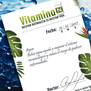 Prescripción de la Vitamina N