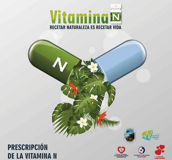 Vitamina N, recetar naturaleza es recetar vida