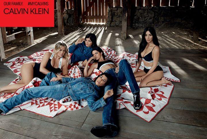 Las hermanas Kardashian protagonizan la nueva campaña de Calvin Klein