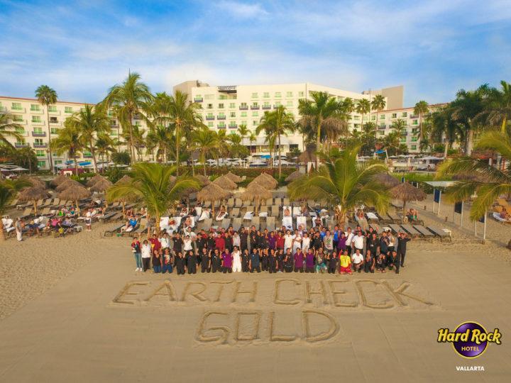 """¡Hard Rock Hotel Puerto Vallarta  ha recibido la certificación de oro """"EARTHCHECK""""!"""