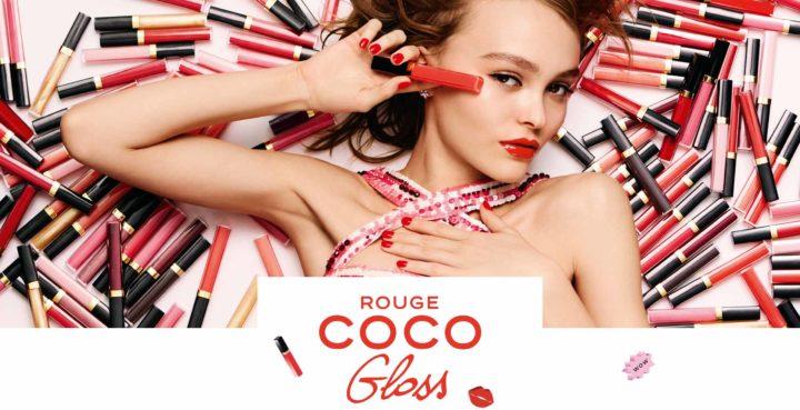 Lily-Rose Depp para la nueva campaña ROUGE COCO LIP BLUSH